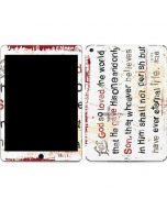 John 3:16 Apple iPad Air Skin