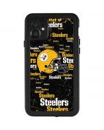 Pittsburgh Steelers - Blast Dark iPhone 11 Waterproof Case