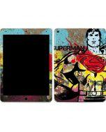 Superman Color Splatter Apple iPad Air Skin