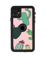 Cactus Print iPhone 11 Waterproof Case