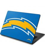 Los Angeles Chargers Large Logo Dell Chromebook Skin