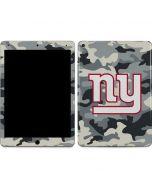 New York Giants Camo Apple iPad Air Skin