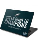 Philadelphia Eagles Super Bowl LII Champions Dell Chromebook Skin