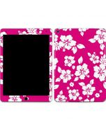Pink and White Apple iPad Air Skin