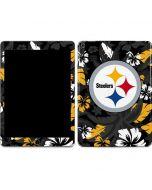 Pittsburgh Steelers Tropical Print Apple iPad Air Skin