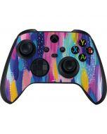 Pink Sparkle Brush Stroke Xbox Series X Controller Skin