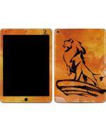 Mufasa Water Color Apple iPad Air Skin