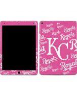 Kansas City Royals - Pink Cap Logo Blast Apple iPad Air Skin