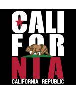 California Black Block iPhone 8 Skin