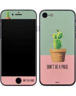 Cactus Prick iPhone 8 Skin