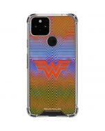 Wonder Woman Rainbow Chevron Google Pixel 5 Clear Case