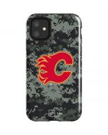 Calgary Flames Camo iPhone 11 Impact Case