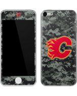 Calgary Flames Camo Apple iPod Skin
