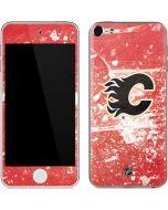 Calgary Flames Frozen Apple iPod Skin