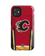Calgary Flames Home Jersey iPhone 11 Impact Case