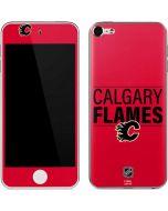 Calgary Flames Lineup Apple iPod Skin