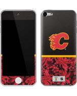 Calgary Flames Retro Tropical Print Apple iPod Skin
