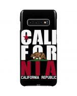 California Black Block Galaxy S10 Plus Lite Case