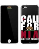 California Black Block Apple iPod Skin