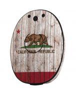California Flag Dark Wood MED-EL Rondo 2 Skin