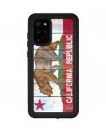 California Flag Light Wood Galaxy S20 Plus Waterproof Case