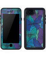 California Watercolor Butterflies iPhone 7 Waterproof Case