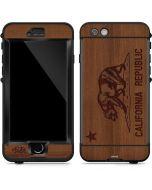 California Wood Flag LifeProof Nuud iPhone Skin