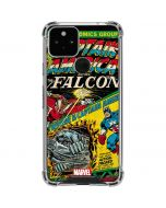 Captain America And Falcon Google Pixel 5 Clear Case