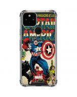 Captain America Big Premier Issue Google Pixel 5 Clear Case