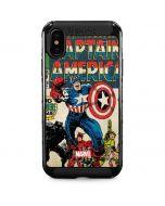 Captain America Big Premier Issue iPhone XS Max Cargo Case