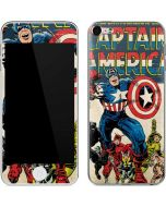Captain America Big Premier Issue Apple iPod Skin