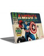Captain America Big Premier Issue Apple MacBook Air Skin