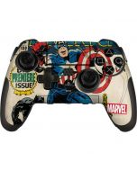 Captain America Big Premier Issue PlayStation Scuf Vantage 2 Controller Skin