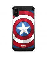 Captain America Emblem iPhone XS Max Cargo Case