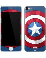 Captain America Emblem Apple iPod Skin