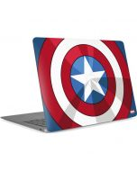 Captain America Emblem Apple MacBook Air Skin