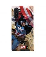 Captain America Fighting Galaxy Note 10 Pro Case