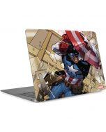 Captain America Fighting Apple MacBook Air Skin