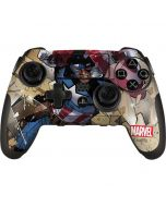 Captain America Fighting PlayStation Scuf Vantage 2 Controller Skin