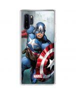 Captain America Galaxy Note 10 Plus Clear Case