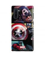 Captain America in Action Galaxy Note 10 Pro Case