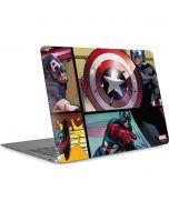 Captain America in Action Apple MacBook Air Skin