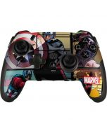 Captain America in Action PlayStation Scuf Vantage 2 Controller Skin
