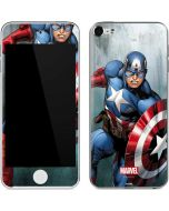Captain America Apple iPod Skin