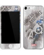 Captain America is Ready Apple iPod Skin
