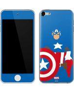 Captain America Minimal Apple iPod Skin