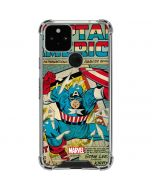 Captain America Revival Google Pixel 5 Clear Case