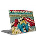 Captain America Revival Apple MacBook Air Skin