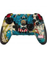 Captain America Revival PlayStation Scuf Vantage 2 Controller Skin