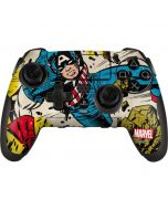 Captain America Rooftop Explosion PlayStation Scuf Vantage 2 Controller Skin